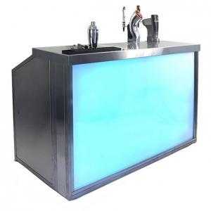 Quality Outdoor Folding Portable Led Bar With Wheels For