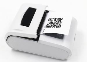 China Android 2 Inch USB Receipt Printer With Rechargeable Lithium Battery 1000mAh on sale