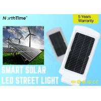 10w Integrated MONO Solar Powered LED Street Lights With 5 Years Warranty / LED Road Lamp