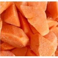 Vitamins Contained Frozen Processed Food , Freezing Fresh Carrots IQF Technology