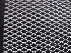 China Car Silver Aluminium Grill Mesh ideal for vents 30cm x 100cm on sale
