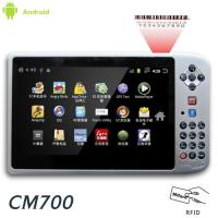 "7"" Rugged UHF RFID reader Android tablet PC PDA with 1D 2D barcode scanner"