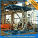 3T 3m Heavy Duty Hydraulic Scissor Car Lift with CE