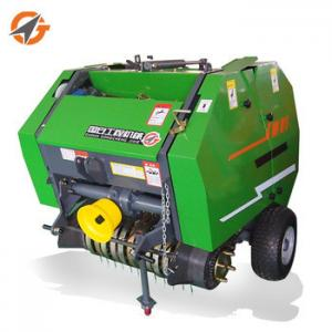 China factory price agricultural equipment mini round hay baler for sale on sale