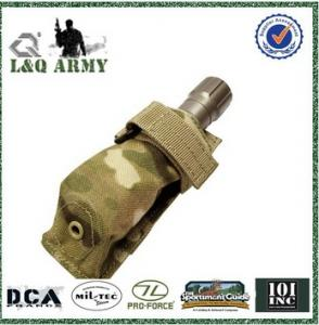 China Multicam Camo MOLLE Tactical FLASHLIGHT POUCH on sale