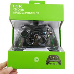 China Cheap USB Wired Controller Gamepad for XBOX ONE and PC Black and white color on sale
