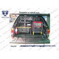 China VIP Protection Defence Vehicle Bomb Jammer High Power Military Portable All Cell Phone Signal Jammer on sale