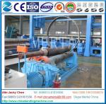 Machine à cintrer de plat mécanique de trois rouleaux, exportation de laminoir de plat
