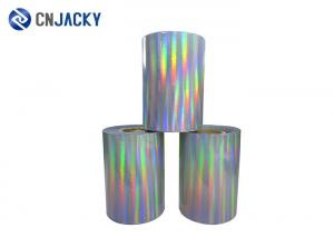 China Customized Smart Card Material Holographic Hot Foil Hologram Stamping Roll For PVC Card on sale