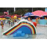 Pequeña diapositiva del puente del arco iris, diapositiva del parque del agua de los niños de pequeño Waterpark para los niños