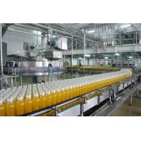 18 Heads Mango / Apple Fruit Juice Production Line For Gable Top Carton Package
