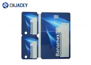 China 3 In 1 Combo PVC Smart Card For Enterprise / Bank  / Company Credit Card Size on sale