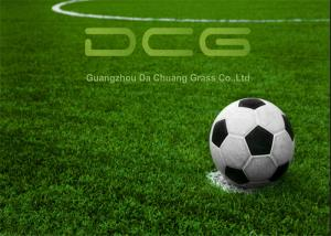 China Environmentally Friendly Soccer Artificial Grass Mat Monofilament PE Material on sale