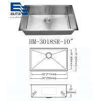 304 Stainless Steel Undermount Sink Single Bowl