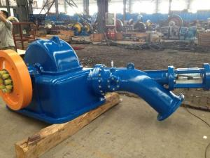 China 83kW Hydraulic Power Plant 62m Head 06Cr13Ni4Mo Professional Horizontal on sale