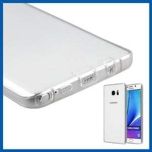 China Crystal Clear Shock Absorption Cell Phone Cases For Samsung Galaxy Note 5 on sale