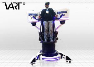 China 360 Free Rotation Platform Vart VR Flight Simulator For 1 Player 2.5kw on sale