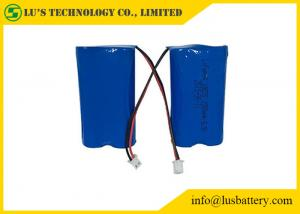 China 1500mah 6.4V LiFePo4 Battery Pack / 2*IFR 18650 Rechargeable Battery on sale