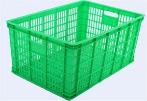 China Cheap plastic turnover basket mould on sale