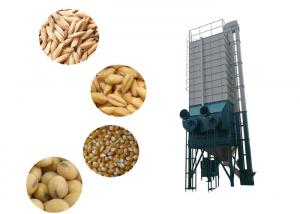 China Low Speed Auger Type Rice Drying Equipment 22 Ton With Low Broken Rate / Low Crack Rate on sale