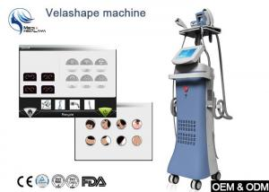 China corps de 100W Velashape formant la cavitation de vide amincissant la machine avec le massage de rouleau de rf on sale