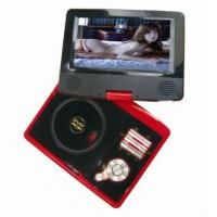 "7""panel portable dvd with AnalogTV,DVB-T,Game,MPEG4, DIVX, USB, Card Reader function"
