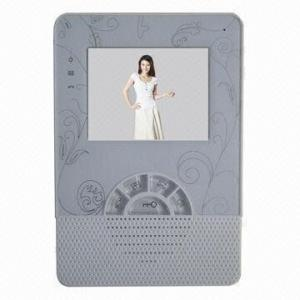China Hands Free 4 inch Color Display Indoor Video Intercom Phone For Indoor Panel on sale