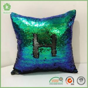 """China Square 16"""" x 16"""" Reversible Sequins Sparkly Mermaid Throw Pillows on sale"""