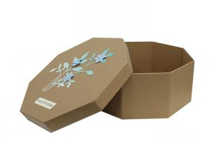 China Hexagon Shaped Paper Craft Gift Box New Design on sale