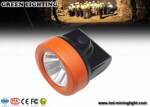 China IP67 waterproof Rechargeable Cap Lamps 4000 lux brightness super lightweight on sale