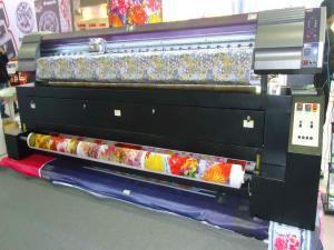 Professional Dye Textile Fabric Sublimation Printer Eco