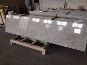 China Kasmir White Granite Tiles Small Slab For Steps Stairs Wall Padding Panel on sale
