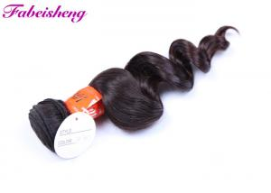 China Soft Natural Human Virgin Indian Hair , Raw Virgin Cuticle Aligned Hair on sale