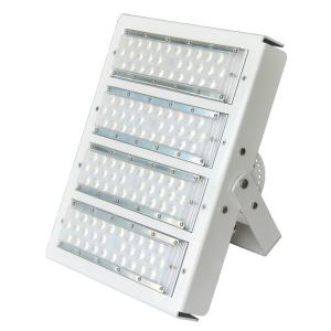 China White Housing Modular Design Exterior Led Flood Lights For Stadium 100w-500 High Efficiency 160lm/W on sale