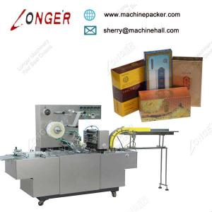 China Automatic Compact Cellophane Packaging Machine,Hot Selling Box Wrapping Machine For Sale on sale