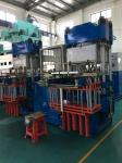 Independent Twin Working Station 250 Ton Vacuum Compression Molding Machine