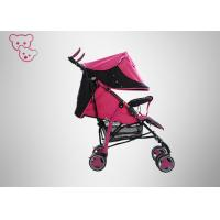 Colorful Baby Trend Umbrella Stroller ,  Safety Lock Red Umbrella Stroller