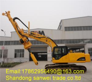 China 20m Small Rotary Pile Drilling Rig Pile Driving Equipment 1200mm Max Diameter FD520A on sale