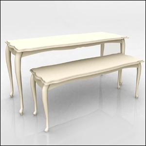 Quality White Nesting Display Tables Fashion Style1200 * 600 * 800MM  For Clothing Shop for sale