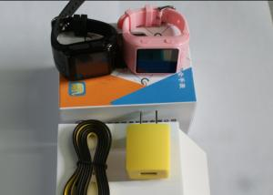 China Accurate Pink Portable GPS Tracker , Senior People GPS Wrist Watch on sale