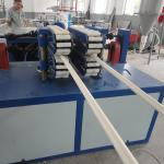 PVC twin pipe production machine, PVC double cavities pipe making machine, PVC dual pipe extrusion line