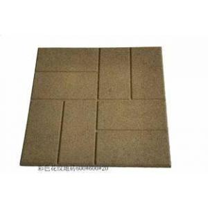 China Recycled Rubber Paver Tile on sale
