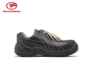 China Acid Resistant Steel Steel Toe Work Shoes , Forbrand Construction Safety Shoes Men on sale