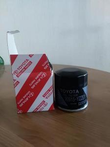 China Toyota Camry Corolla AURIS Prius Yaris Automotive Oil Filter 90915 YZZE1 For Auto Engine on sale
