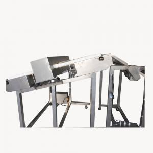China Customized Incline Conveyor Belt Metal Detector For Food Industry Processing Products Sorting on sale