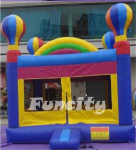 China Durable 0.55mm PVC tarpaulin kids inflatable jumping castle for festival entertainment on sale