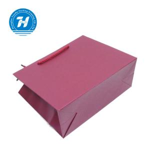 China Luxury Medium Custom Printed Paper Bags / Kraft Promotional Paper Bags on sale