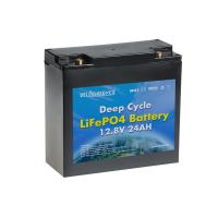 China Smart 12A 24Ah 12v Lithium Ion Battery Pack For Motorcycle on sale