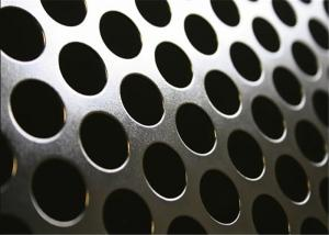 China Round Hole Perforated Metal Panels 5mm Diameter For Industries Decorative on sale
