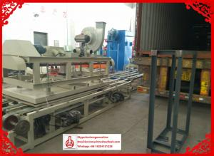 China High Speed Glass Magnesium Oxide Board Production Line for Sawdust / Crushed Plant Straw Materials on sale